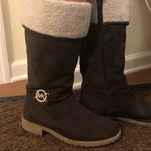 Michael Kors big girl's suede boots